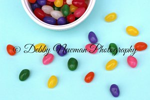 Jelly Beans Scattered