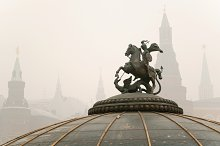 Monument to St. George, Moscow