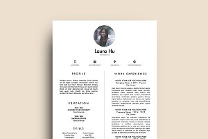 Resume Template (MS Word) | Laura