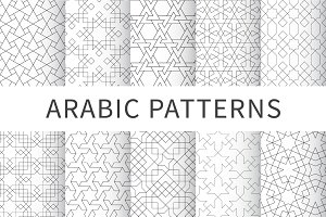 Islamic seamless geometric pattern