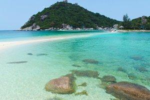 Beautiful ocean coast