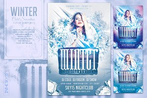 Winter Cold Sensation Flyer Template