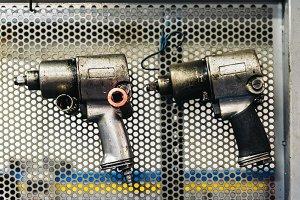 Impact Gun on the Wall.