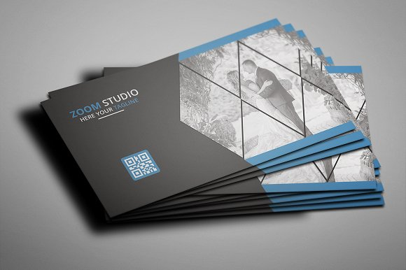 Photography business card business card templates creative market colourmoves