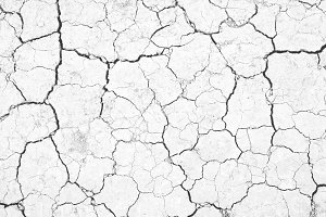 Black and white texture of earth