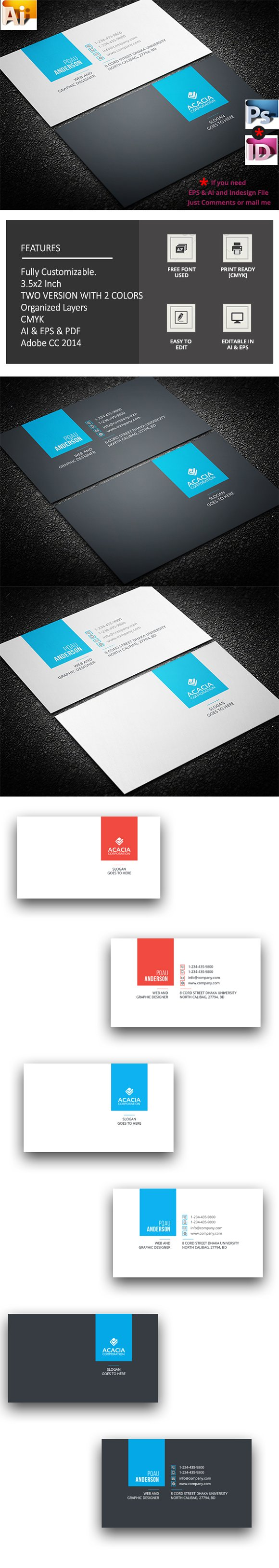 Simple clean business card business card templates creative simple clean business card business card templates creative market magicingreecefo Image collections