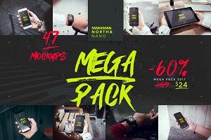 North&Nano MEGA MOCKUP PACK 2017