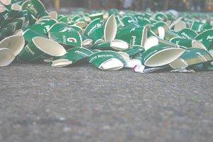 Litter after Marathon