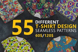 T-shirt design pattern BIG BUNDLE
