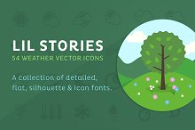 by  in Weather Icons