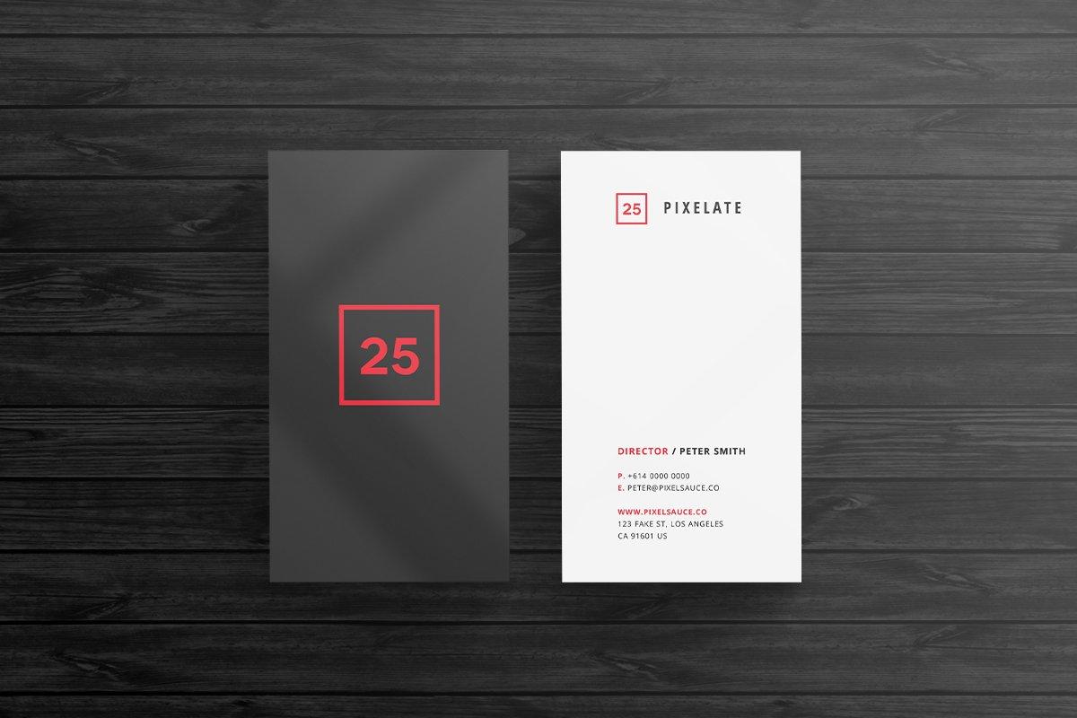 Minimal Business Card Template Templates Creative Market