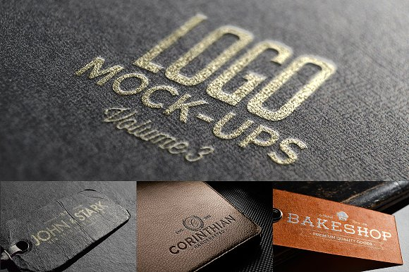 Download Logo Mock-ups Vol.3