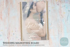 IK001 Wedding Marketing Board