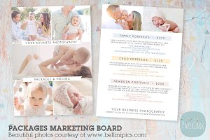 IP007 Photography Pricing Packages