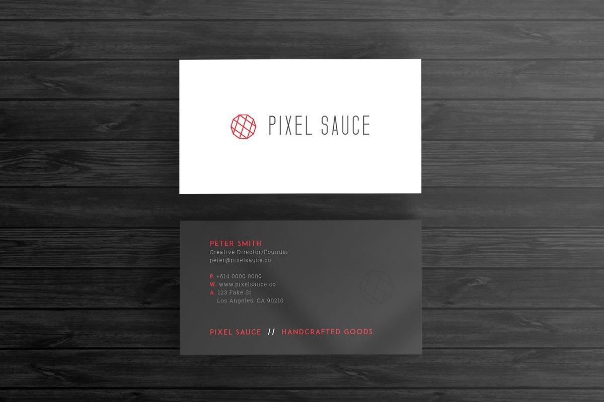 Corporate Business Card Template ~ Business Card Templates ...