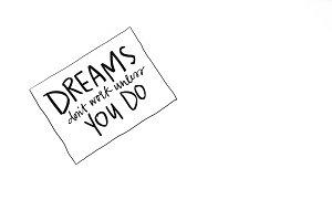 Dream Chaser Stock Image