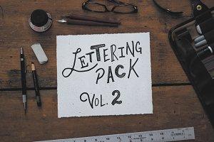 Lettering Pack Vol.2