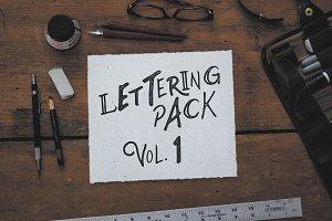 Lettering Pack Vol. 1