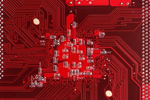 Red electric circuit board