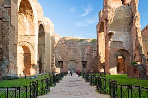 The Baths of Caracalla