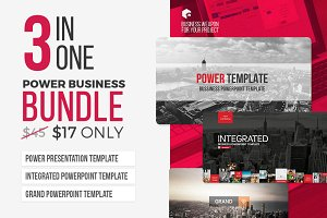 3 in 1 - Power Business Bundle