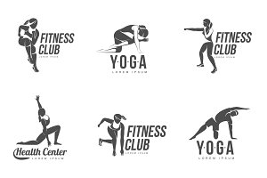 Aerobic workout logo