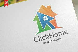 Click House / Apps - Logo Template