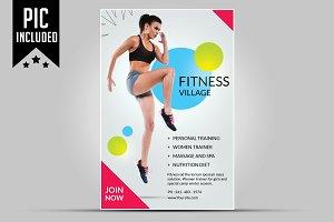 Fitness Flyer / Gym Flyer