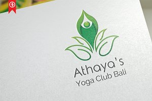 Athaya / Yoga - Logo Template