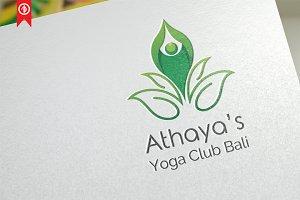 Athaya / Yoga - Logo Template