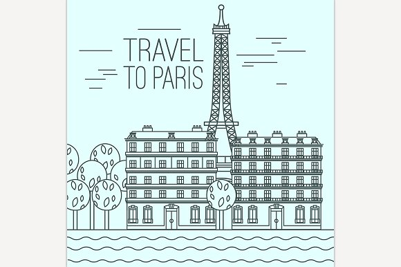 Paris Travel Cincept