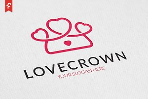 Love Crown Logo