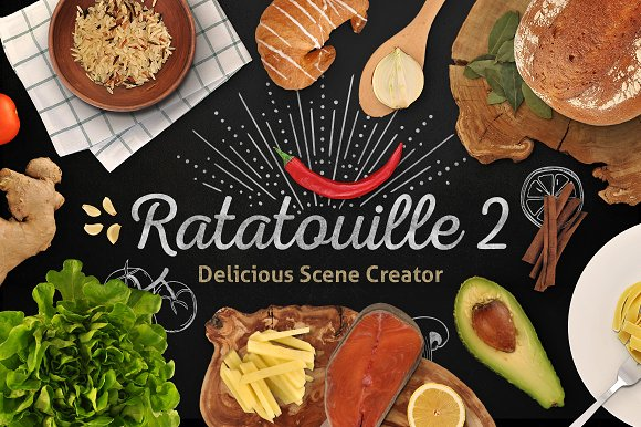 Ratatouille 2 — Food Scene Creator