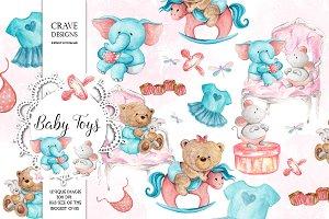 Baby Toys Clip Art