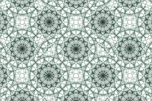 Geometrical Ornate Seamless Pattern