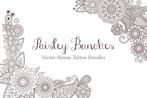 Paisley Bunches