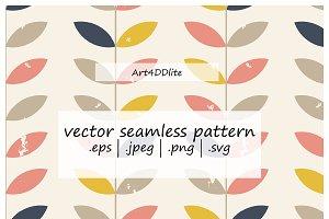 Scandinavian style floral pattern