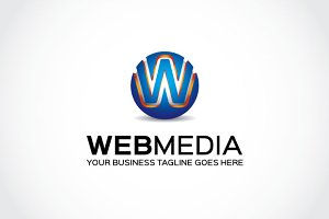 Web Media Logo Template