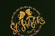 Saint Patricks Day Typography Design