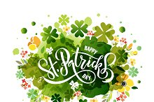 St. Patrick's Day Watercolor Card