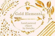 Gold Design Elements