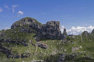 Mountain landscape. Alps.