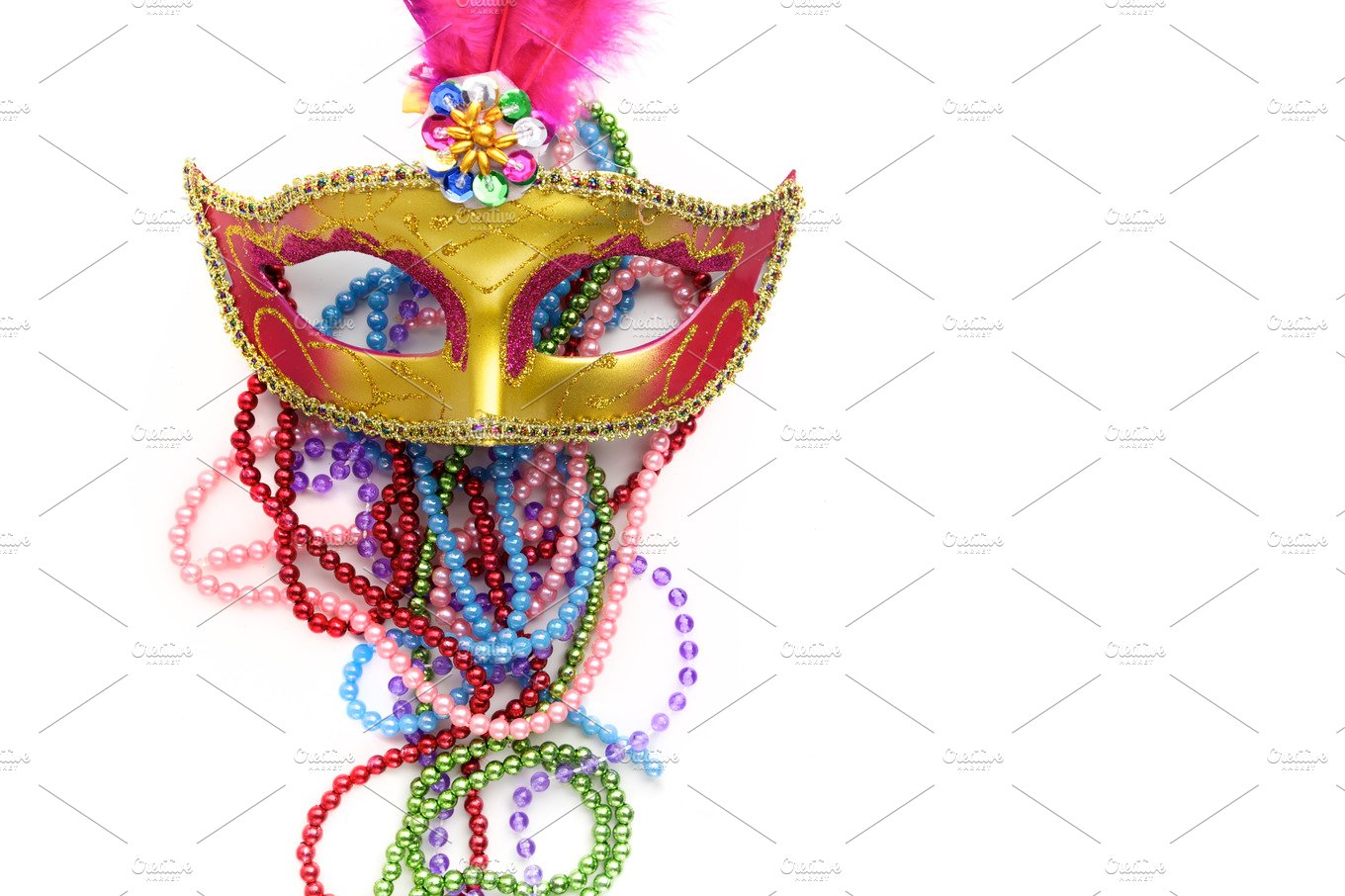 ways the blog easy a inspired have carnival gras wedding to bride beads mardi nola