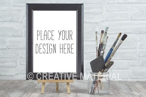 Mockup Frame | Paint Brushes | #21