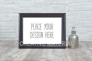 Black Mockup Frame | Showcase | #23