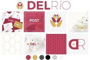 Logo & Brand Kit - Del Río