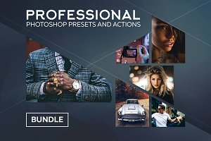 Photoshop Presets and Actions Bundle