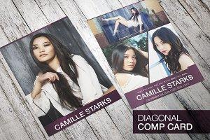 Professional - Diagonal Comp Card