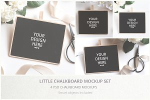 Little Chalkboard Mockups