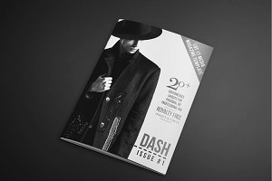 Dash Magazine Template #1